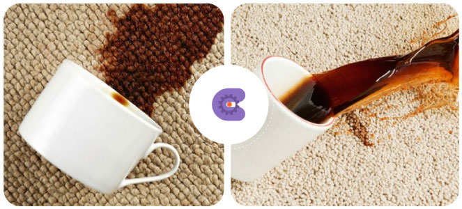 Avoid Spilling on Carpets