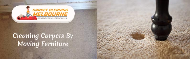 Cleaning Carpets By Moving Furniture